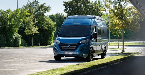 Hymer free 540 blue evolution 2021